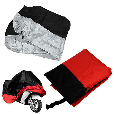 Motorcycle Bike Moped Scooter Cover Waterproof Rain UV Dust Prevention Dust U5P9