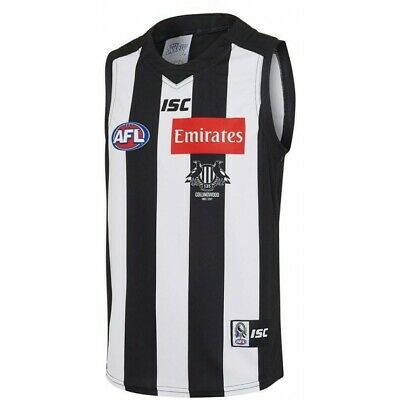 Collingwood Magpies 2017 AFL Home Guernsey Adults, Ladies and Kids Sizes BNWT