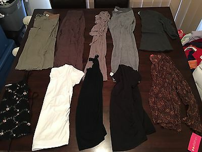 10 Ladies Maternity Pregnancy Mixed Items Bulk Size Small And Medium