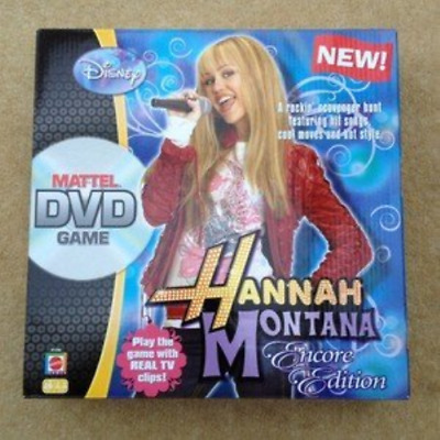 Hannah Montana Encore Edition DVD Game