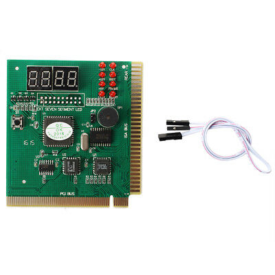 Diagnostic analyzer card for motherboard-PCI ISA E4U7