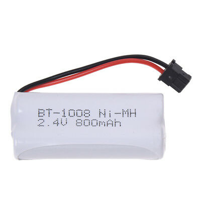 2X Rechargeable Cordless Phone Battery 800mAh for Uniden BT-1008 White I4T3