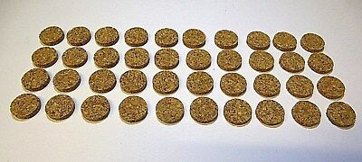 40 Pack 12mm Self Adhesive Cork Dot Pads Round Scratch Protector Picture Bumpers