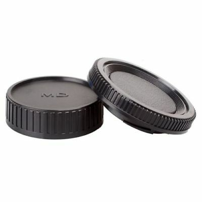 Rear lens + Body Cap cover for Minolta MD MC SLR Camera and Lens