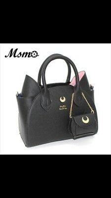 Sailor Moon Bag Samantha Vega Luna Women Handbag 20th Anniversary Cat Ear