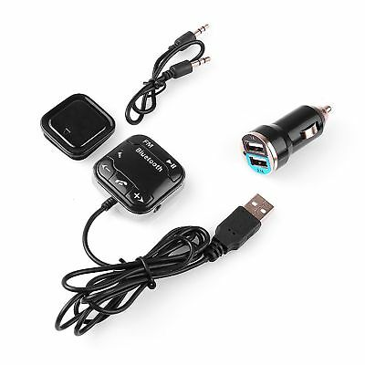 Hands Free Call LCD MP3 Player Car FM Transmitter Wireless Bluetooth USB Charger