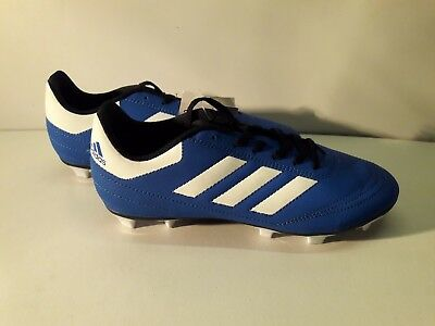 buy online 81325 5f283 Size UK 5.5 adidas Goletto Firm Ground Football Boots Junior Boys BlueWhite