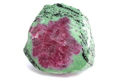 Ruby in Zoisite Anyolit polished top red green Natural Gemstone 876 Grams