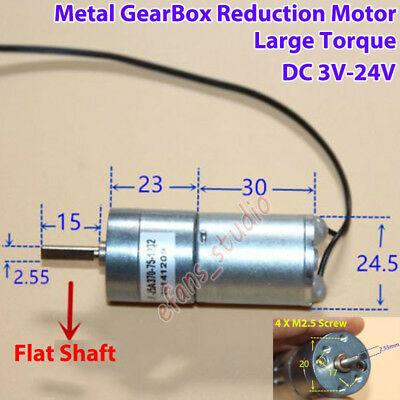 Micro N20 Gear Motor Position Detect Switch Control DC 1.5V~3V 40RPM Slow Speed