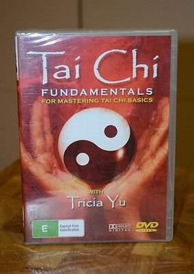 Tai Chi Fundamentals for Mastering Tai Chi Basics with Tricia Yu DVD Sealed NEW