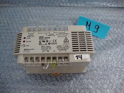 Omron S82K-10024 Power Supply In: 100-240VAC Out: 24VDC 4.2A 100W