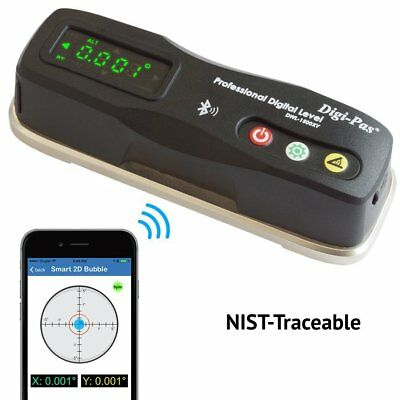 2-Axis Precision Engineers level  Bluetooth  6-Inch / 0.020 mm/M / (0.001°)