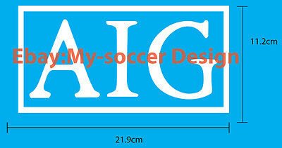 Manchester United FC Home AIG SPONSOR PRINT EXCELLENT QUALITY FREE SHIPPING ed0274de742