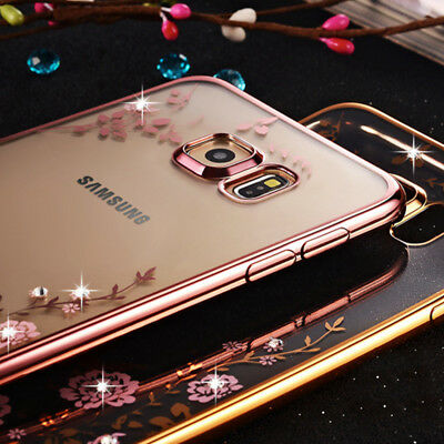 Case for Samsung Galaxy S8 S9 S10 Plus Crystal Cover A7 A6 A8 2018 J4 J6 Plus