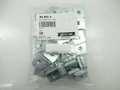 XLAQ 6 XLAQ6 Flexlink Square Nut M6 (New)