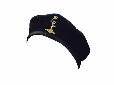 Royal Signals Navy Blue Beret - British Army Issue - 56Cm - Used - Sp3488