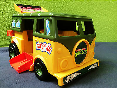 Turtle Party Wagon - Mutant Attack Van | TMNT | Vintage | Playmates Toys | 1989