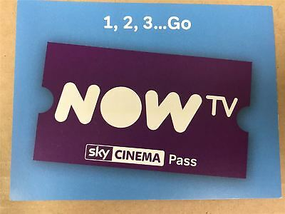 Now TV 4 Month Sky Cinema Pass ONLY