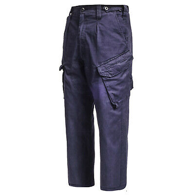 British Army Pants Working PCS Combat Dress Trousers FR RN Royal Navy Blue No 4