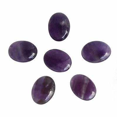 16X12MM Oval Shape, Amethyst Calibrated Cabochons AG-216