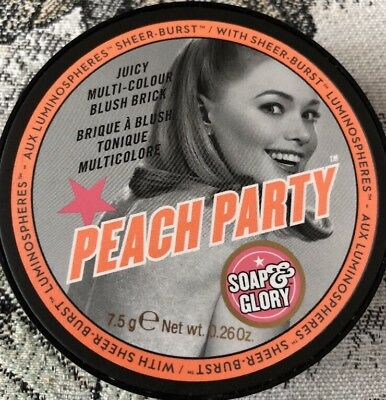 Soap And Glory Peach Party With Luminospheres Free Delivery To Uk