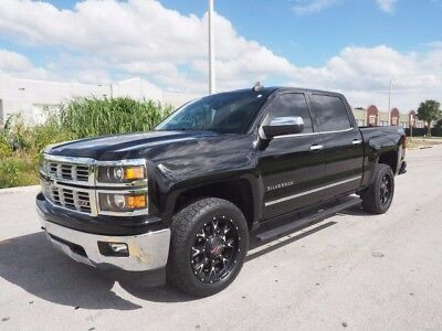 2015 Chevrolet Silverado 1500 Z-71 LTZ Crew Cab Long Bed 4WD LOADED FLORIDA CHEVY! 4x4 Z71 - $40k+ ALL DAY - VIDEO -  LOOK 14 16 F-150 Tundra