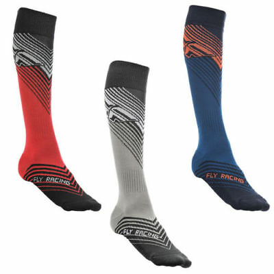 New 2019 Fly Racing Mx Thin Socks Motocross Dirt Bike All Size & All Colors