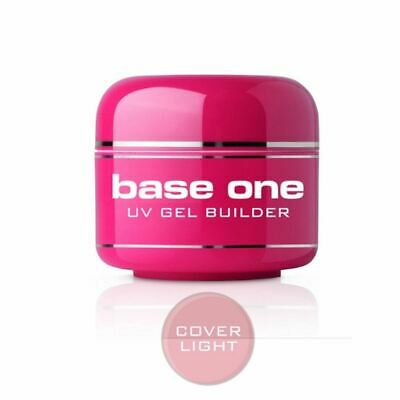 Base One Cover Light 5 15 30 50g UV Gel Camouflage Ideal French Nails Silcare