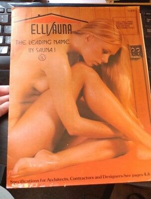 VINTAGE ELLISAUNA ADVERTISING BROCHURES & PRICE LIST  STAMFORD CT suana