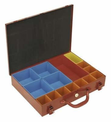 Sealey Metal Storage Case With 15 Bins APMC15