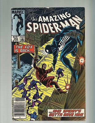 AMAZING SPIDER-MAN #265 1st Silver Sable FN (1985 Marvel)