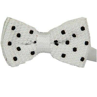 ZZBW510 Fashion Men's  Pattern Bowtie Knit Knitted Pre Tied Bow Tie Woven