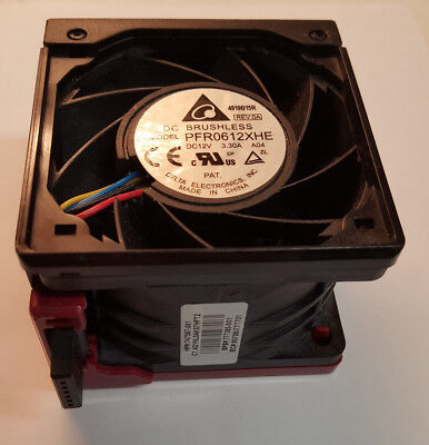 Delta Electronics PFR0612XHE Cooling Fan 12V   3.3A -  60 x 60 x 38mm  16,500rpm