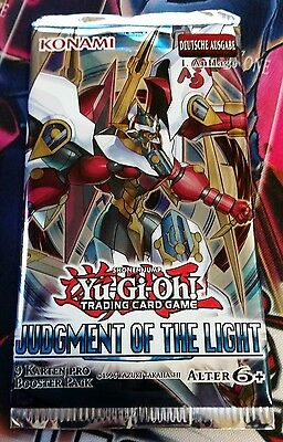 Yu-Gi-Oh! 1 x Booster Judgment of the Light (Deutsch) 1.AUFLAGE OVP