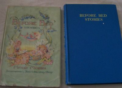 BEFORE BED STORIES by Maud Morin Illus Jean W. Heap Pendelfin 1st ed Dust Jacket