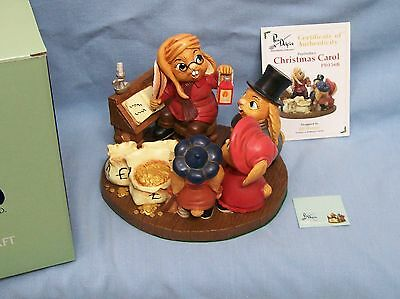 CHRISTMAS CAROL Canadian exclusive colourway Pendelfin Hard to find Scrooge