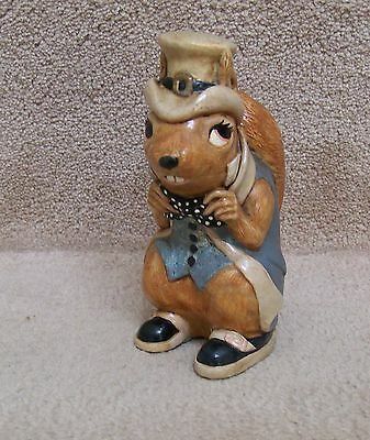 RARE CYRIL SQUIRREL from Pendelfin designed by Doreen N. Roberts