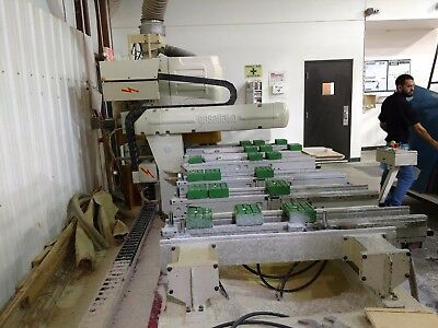 Well maintained 2000 BUSELLATO JET 3006 CNC MILLWORK ROUTER,