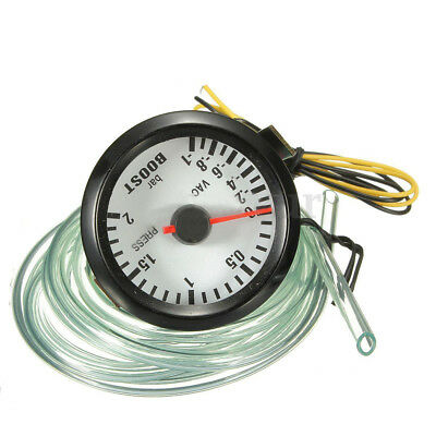 2 inch 52MM LED car boost gauge With PVC pipe X5N0