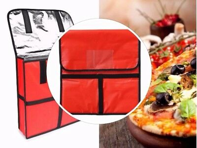 Quality Pizza Delivery Bag Holds Pizzas Food Thermal Bag Insulated 18X18X5 Inch