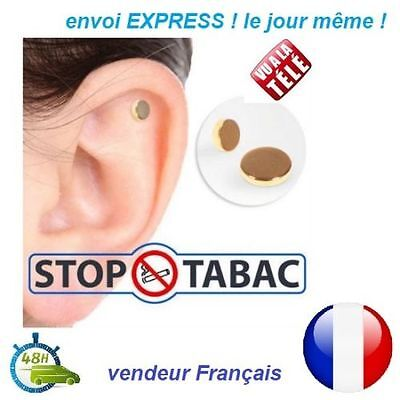 Aimant Anti Tabac Quit Smoke Magnet Auriculaire ARRETER DE FUMER Acupuncture