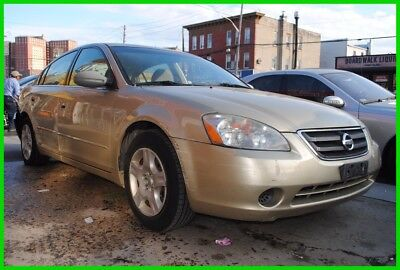 2004 Nissan Altima 2.5 S 2004 Nissan Altima Low Mile Salvage Rebuildable Wrecked EZ Easy Fix Save Big!!!