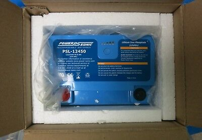 Power-Sonic PSL-12450 Lithium Iron Phosphate (LifePO4) Rechargeable Battery