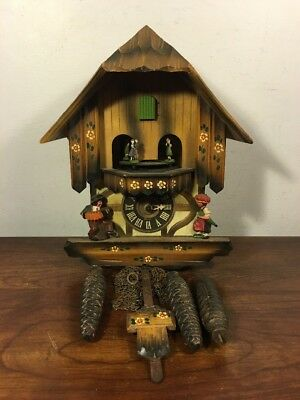 Vintage Cuckoo Clock Regula Movement Made In West Germany