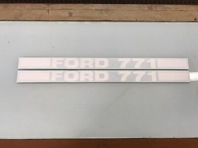 Ford 771 Loader Decals