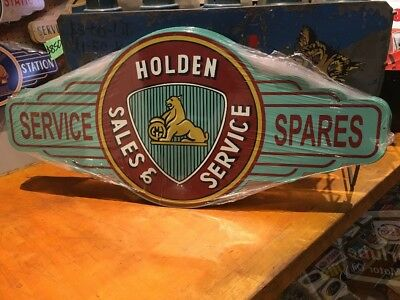 Holden Sales Repro Service Sign