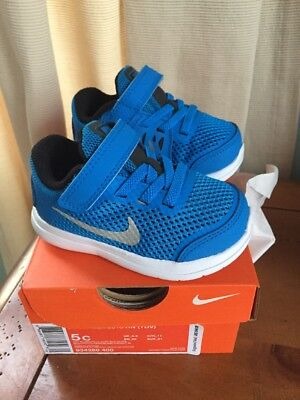 c74af05656 NIB NIKE FLEX Rn Size 5 Toddler Boys Shoes Blue - $23.00 | PicClick