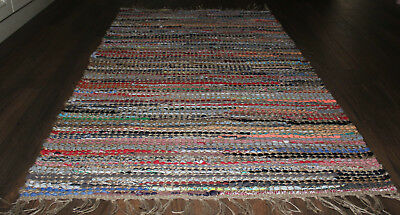 *REDUCED* Jute / Cotton Floor  Rug   * 1 . 5 m  x  0.9 m *    BRAND NEW
