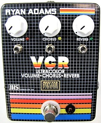 Used JHS Ryan Adams VCR Volume Chorus Reverb Guitar Effects Pedal!