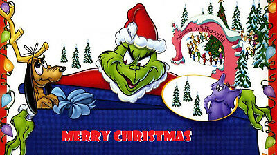 The  Grinch Who Stole Christmas Edible image Cake topper decoration